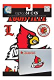 me & my BIG ideas laptopSTICKS Removable Laptop Stickers, Louisville Cardinals