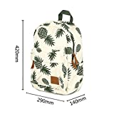 CCOHO White Pineapple School Backpack Travel