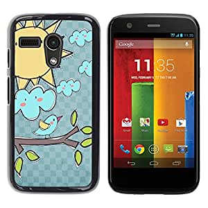 Dragon Case - FOR Motorola Moto G 1 1ST Gen - like the sparkling stars - Caja protectora de pl??stico duro de la cubierta Dise?¡Ào Slim Fit