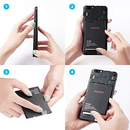 Smartphone Moviles Libre 3G, 5.5 Pulgadas Dual SIM, Doble Cámara ...