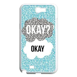Season.C-Custom The Fault In Our Stars Back For Case Samsung Galaxy S5 Cover (White)