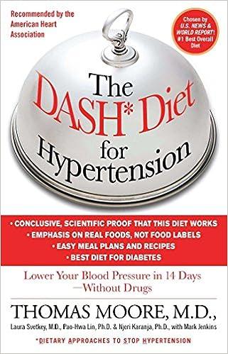The DASH Diet for Hypertension: Mark Jenkins, Thomas J. Moore ...
