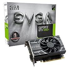 EVGA GeForce GTX 1050 Ti GAMING, 4GB GDDR5, DX12 OSD Support (PXOC) (04G-P4-6251-KR)