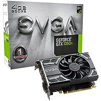 EVGA GeForce GTX 1050 Ti Gaming, 4GB GDDR5, DX12 OSD Support (PXOC) Graphics Card 04G-P4-6251-KR