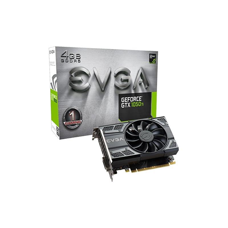 EVGA GeForce GTX 1050 Ti Gaming, 4GB GDD