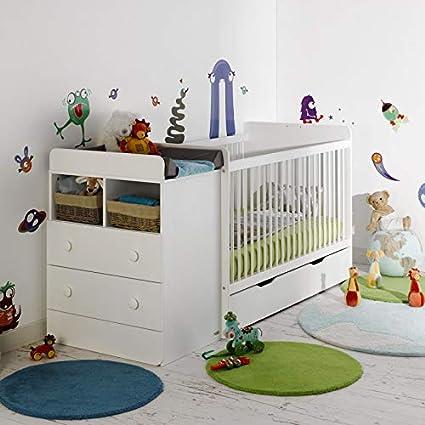 Alfred & Compagnie - Cuna evolutiva para bebé con cajón, 70 x ...
