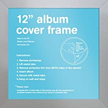 "GB eye FMALA1SL Silver 12"" Record Sleeve Album Frame"