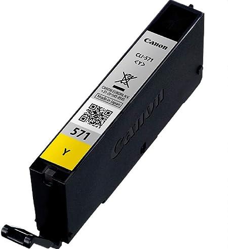Canon Cli 571 Y Druckertinte Gelb 7 Ml Für Pixma Drucker Original Bürobedarf Schreibwaren