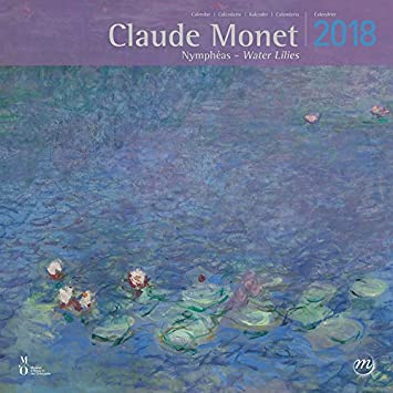 Calendario 2018 – Claude Monet nenúfares