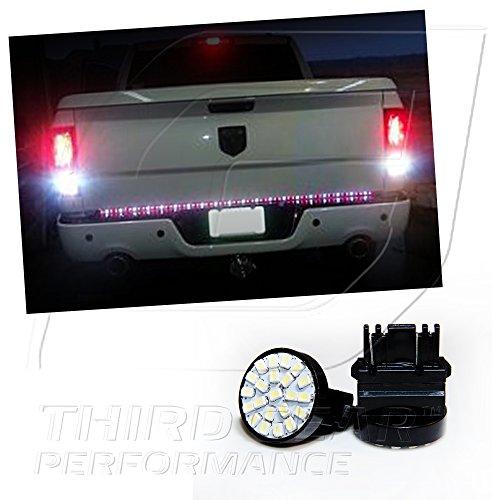 TGP 3157 White 22 LED SMD Wedge Reverse / Backup Light Bulbs Pair 2002-2006 GMC Yukon / Denali / XL (ALL)