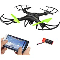 Dazhong FPV Drone 2.4Ghz U42W RC Quadcopter with Wifi HD Camera,Altitude Hold Flight Route Setting Mode