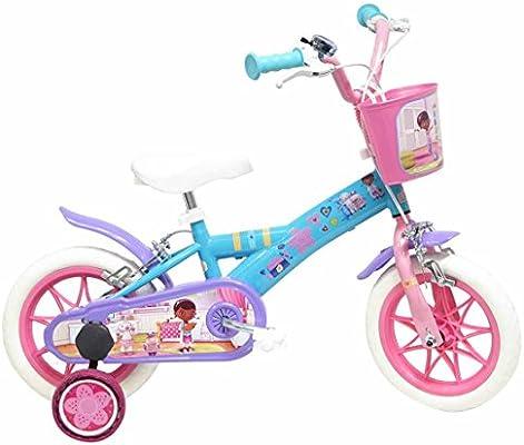 Disney Doctora Juguetes Bicicleta niño, Color Azul y Rosa, tamaño ...