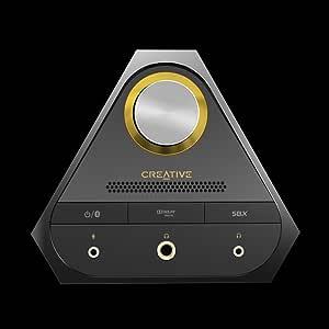 Creative Sound Blaster X7 High-Resolution USB DAC 600 ohm Headphone Amplifier with Bluetooth Connectivity