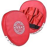 Boxing Mitt Training Target Focus Punch Pad Glove MMA Karate...