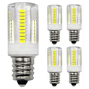 E14 LED Light Bulb 2.5W SES(Small Edison Screw) 25W 28W 30W Incandescent Bulb Equivalent 380LM 220-240V for Fridge…