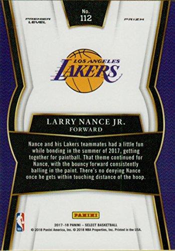 9ca34bf10 Amazon.com  2017-18 Select Tri-Color Prizms  112 Larry Nance Jr. Premier  Level Lakers  Collectibles   Fine Art