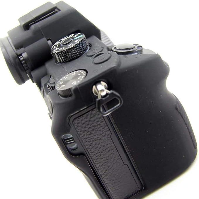 1 X Silikon Schutzhülle Für Sony Alpha A7 Mark Iii A7iii A7riii A9 Schwarz Elektronik