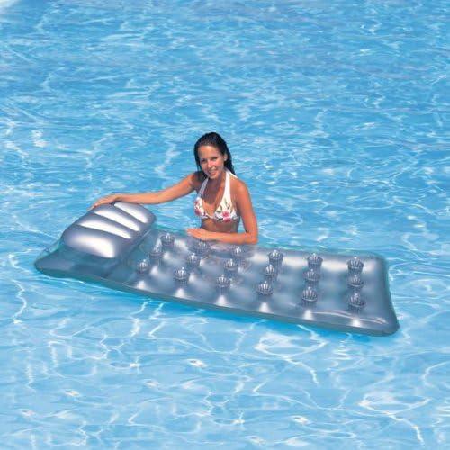 Intex 58894 colchón inflable para piscina gris 188 x 71 cm ...