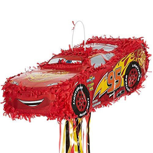 - Amscan Disney Cars Lightning McQueen 3D Pinata (1)