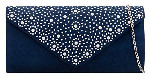 Bag Clutch Girly Navy Bag Clutch HandBags Beaded Beaded Girly HandBags 8qgxHwd