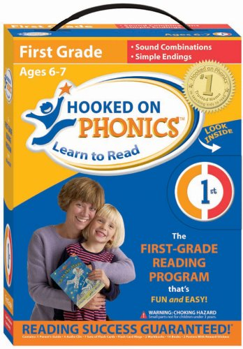 Download Hooked on Phonics: Learn to Read First Grade System pdf