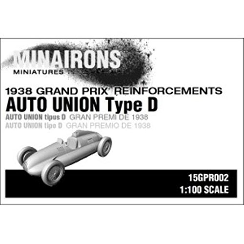 - 1938 Grand Prix - Models 1:100 Auto Union Type D