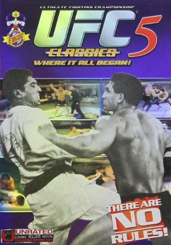 DVD : UFC Classics 5 (Full Frame, Dolby)