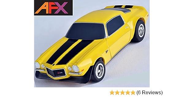 Afx 1970 Chevy Camaro Z28 Yellow Ho Slot Car Mega G Megag Tomy Afx21048 21048