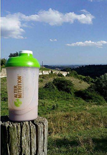 Alter Nutrition - Whey (proteína de suero de leche) ecológica: Proteína whey ecológica de 2 ingredientes: lactosuero ecológico y aroma de vainilla ...