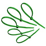 "Tach-It 8"" X 40 Lb Tensile Strength Green Colored Cable Tie (Pack of 1000)"