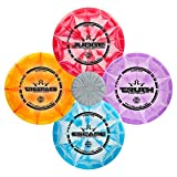 Dynamic Discs Four Disc Prime Burst Disc Golf Starter Set - Driver, Midrange, Putter