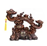 GL&G Chinese mascot Like Decoration Lucky crafts High-end office Shop Living room Tabletop Scenes Ornaments Sculptures Statues Business gift,551947cm