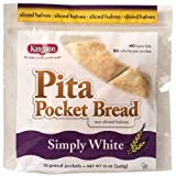 Kangaroo Pocket Bread White 12 Oz