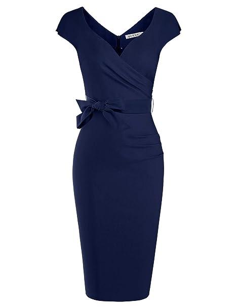 de Mujer Estilo cóctel de para los Vestido clásico años 50 MUXXN U6qP4gWv5U