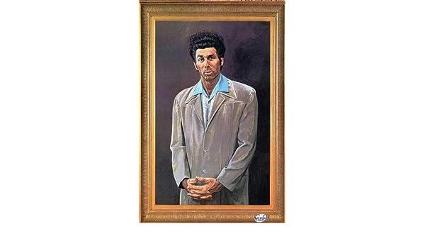 Kramer Portrait Painting 24x36 Poster Seinfeld Michael Richards Funny Wall Art