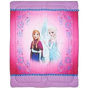Disney Frozen Sister Love 72 by 86-Inch Comforter, Twin/Full