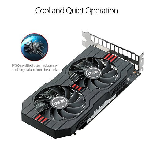 ASUS Radeon RX 560 14CU 4GB EVO OC Edition  GDDR5 DP HDMI DVI AMD Graphics Card (RX560-O4G-EVO) by Asus (Image #3)
