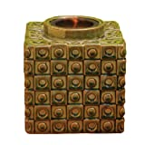 Cheap Bird Brain Vesta Firepot, Circles and Squares -Olive