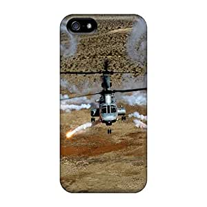 Hot Fashion Zmt38033KtJS Design Cases Covers For Iphone 5/5s Protective Cases (helicopter)