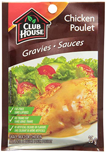 Club House Chicken Gravy Mix, 25g/1oz, Imported from Canada}
