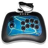 ElementDigital® Fightstick for PS3 PC PC360, Universal Arcade Fighting Stick Street Fighter Joystick FightStick