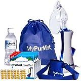 MyPurMist Classic Handheld Personal Vaporizer and Humidifier (Plug-in), Premium Kit