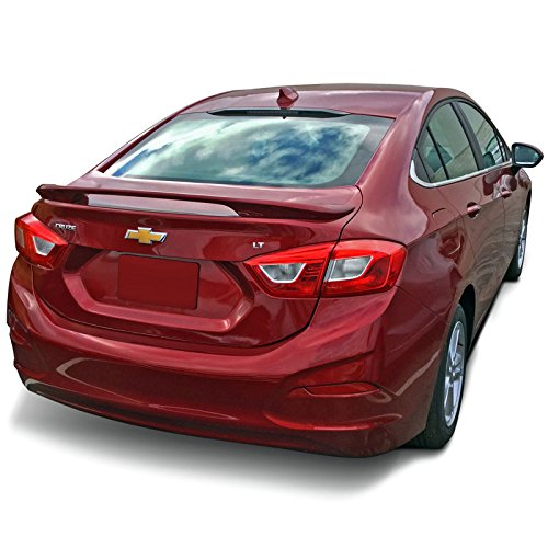 CRUZE16-PED Factory Style Pedestal Spoiler for Chevrolet Cruze - PULL ME OVER RED WA130X (G7C)