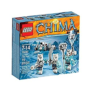 LEGO Legends of Chima Ice Bear Tribe Pack Set #70230