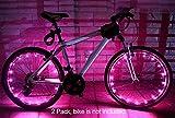 MAGINOVO 2 Pack Led Bike Wheel Light | Waterproof