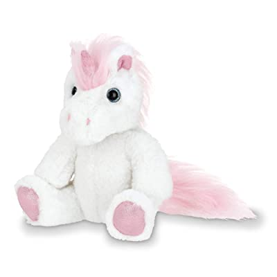 Bearington Lil' Fluffs Small Plush Stuffed Animal Unicorn, 7 Inches: Toys & Games