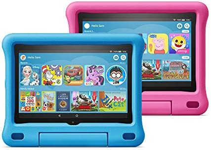 "Fire HD 8 Kids Edition tablet 2-pack, 8"" HD display, 32 GB, Blue/Pink Kid-Proof Case"