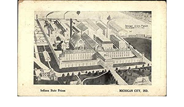 Indiana State Prison Michigan City In Original Vintage Postcard 1908 At Amazon S Entertainment Collectibles Store