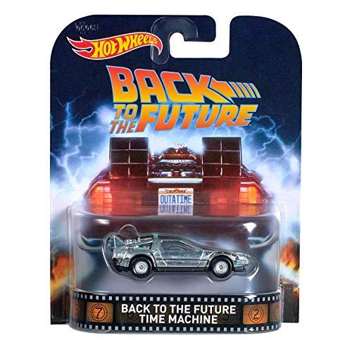 Hot Wheels Retro Entertainment Diecast Back To The Future Ti