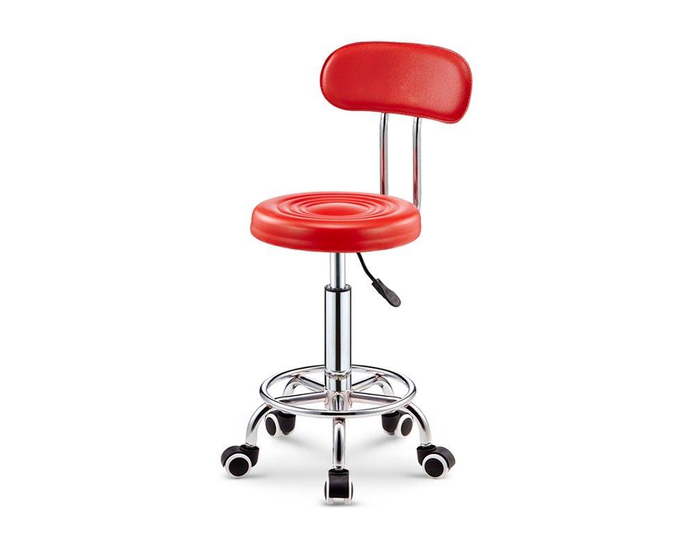 バーチェア、4456cmバースツールリフトハイスツール4色 (色 : Red) B07DWMBPRD Red Red